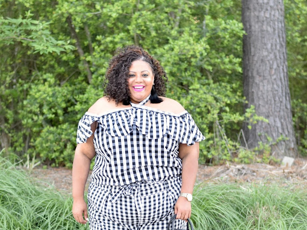 Gingham Style Over a Size 22