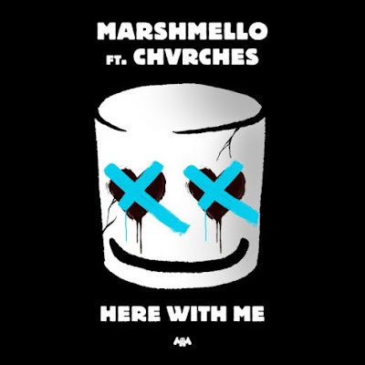 Marshmello Here With Me 128kbps Mp3 Song Download Mp3meet