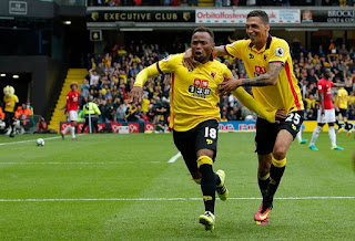 Watford Manchester United 3-1 Zuniga gol