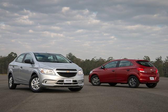 Chevrolet Onix e Prisma Joy 2017