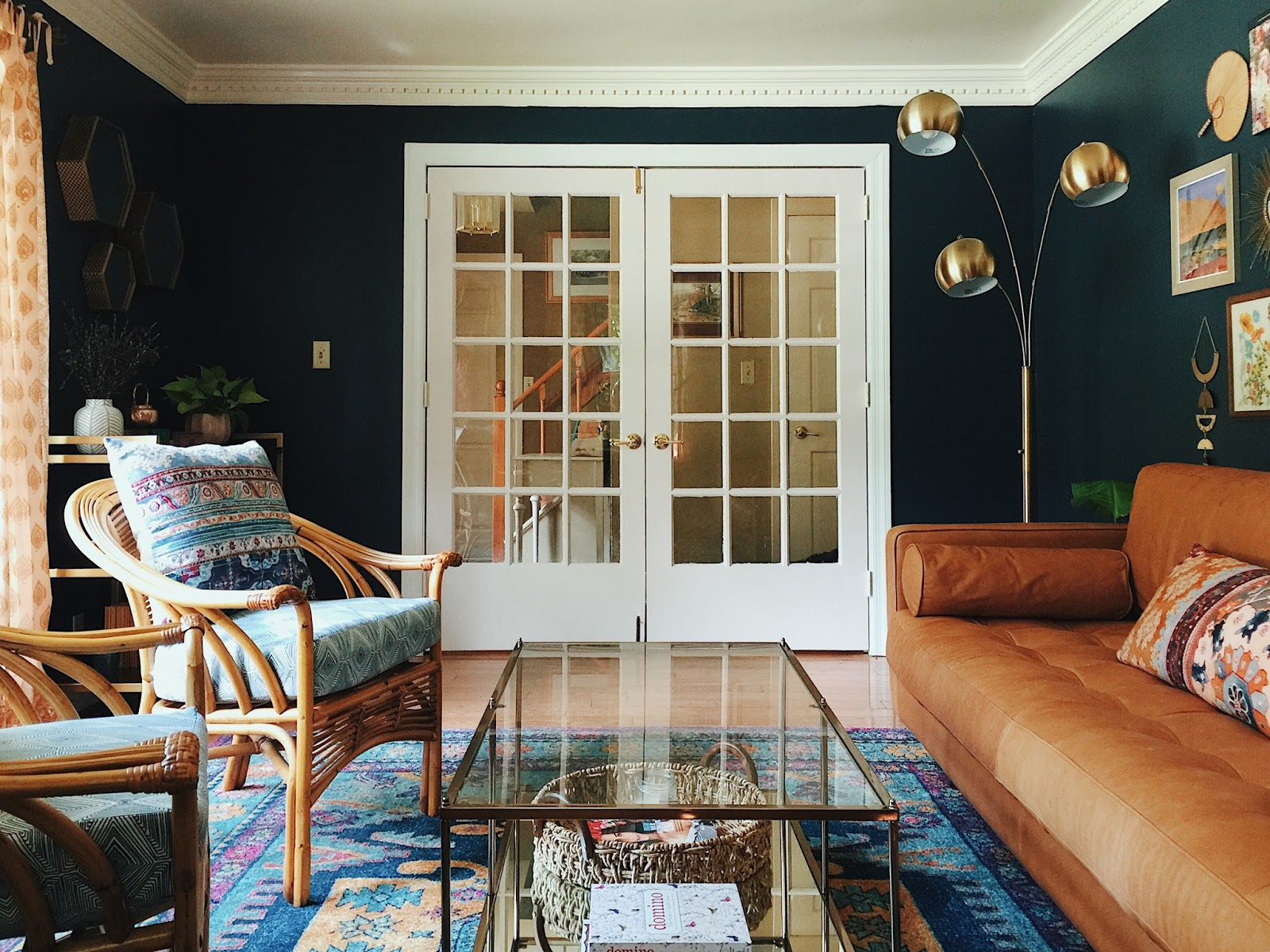 However, It Was Too Big For This Room And Was Just Being Used As A Place To  Store Junk. These French Doors ...