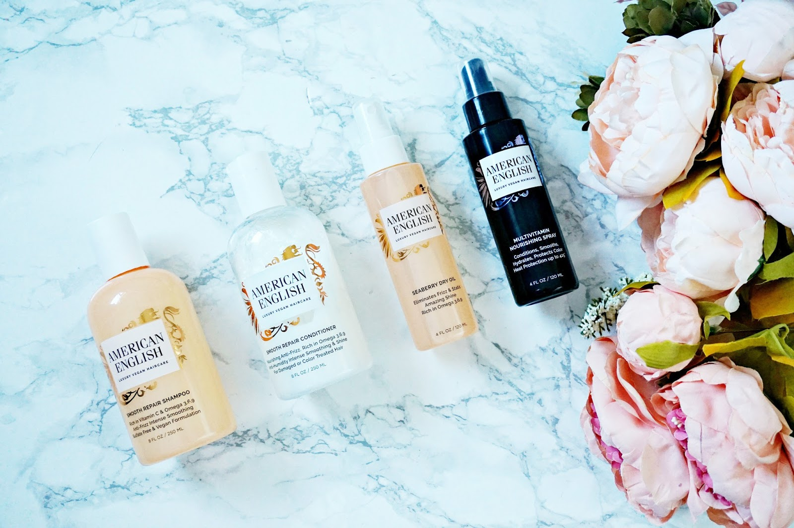 American English hair products review