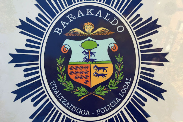 Logo de la policía local de Barakaldo