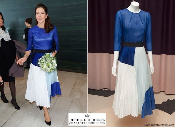 Crown Princess Mary wore Designers Remix Dress