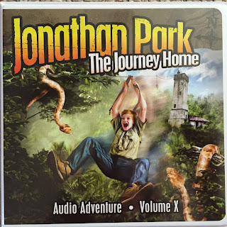 Jonathan Park Audio Adventures Review | scriptureand.blogspot.com