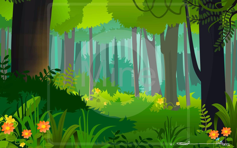 House Design Games On Facebook Selva Art Cartoon Forest