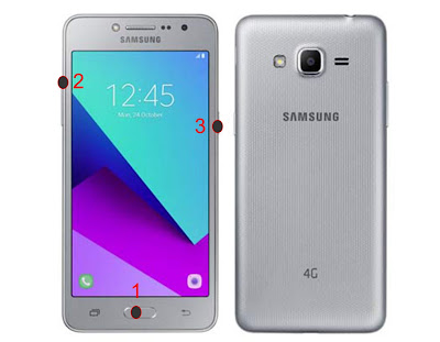 Cara Hard Reset Hp Samsung J2 Prime 4G