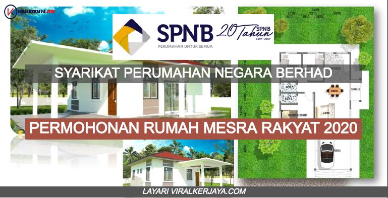 Permohonan Rumah Mesra Rakyat Rmr 2020 Online Spnb Viral Kerjaya