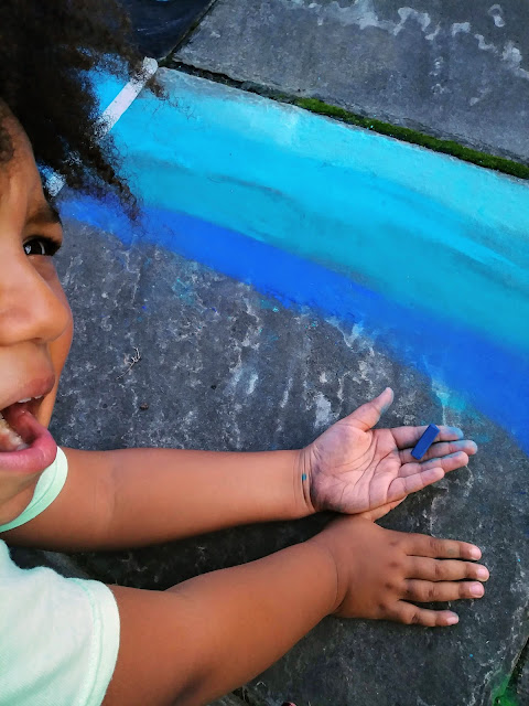 An Afternoon at Cleveland Museum of Art's Chalk Fest