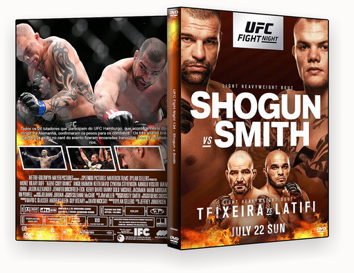 UFC Fight Night 134 Shogun x Smith 2018 – ISO – CAPA DVD