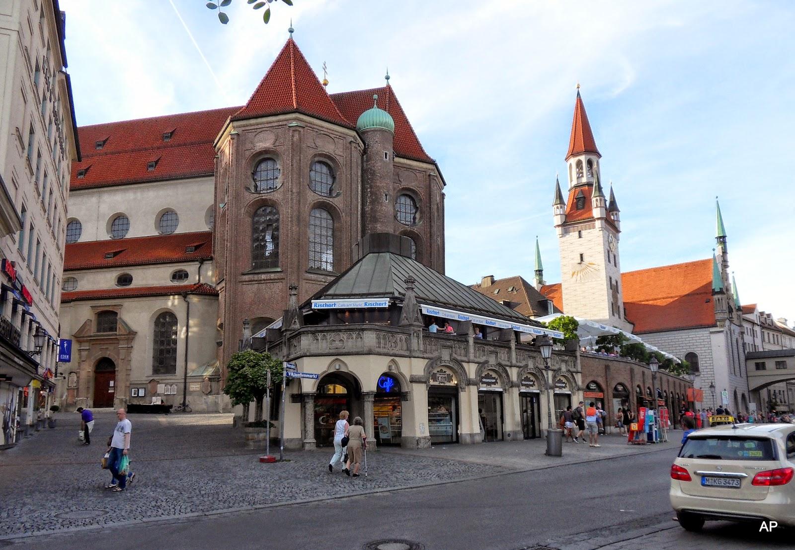 St. Peterskirche.