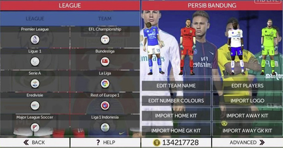Download FTS Mod FIFA 18 Gojek League 1 Indonesia by GilaGame Android