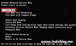 Cara Masuk Safe Mode Windows 7 Saat Booting