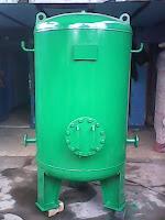 Air Pressured Tank, air receiver tank, tangki udara terkompres