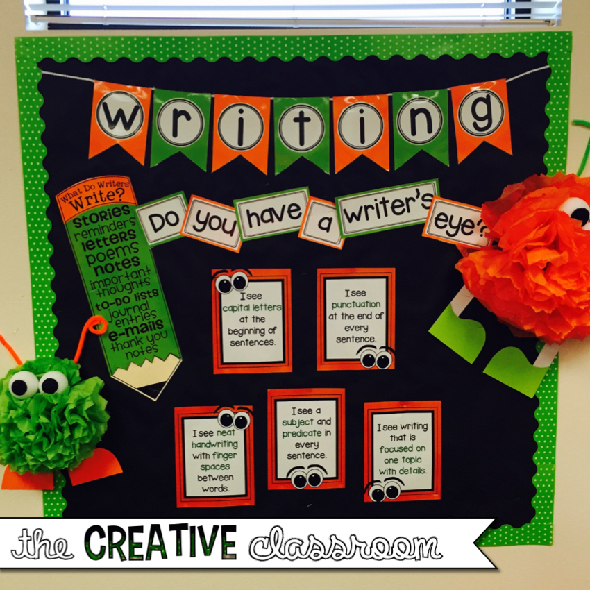 Creative Classroom Idea ~ Classroom decor and much more the creative