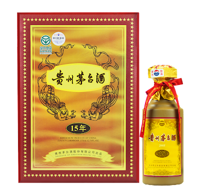 Kweichow Moutai 15 years