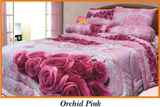 Sprei & BedCover Impression - Orchid Pink
