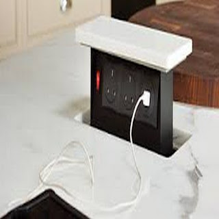 Pop Up Electrical Sockets For Kitchens