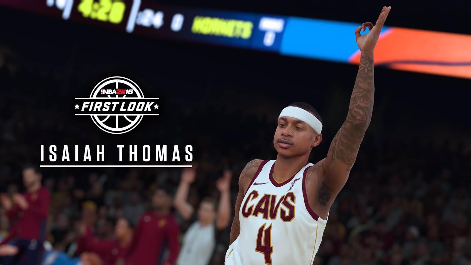 NBA 2k18 Isaiah Thomas Screenshot in Cavs
