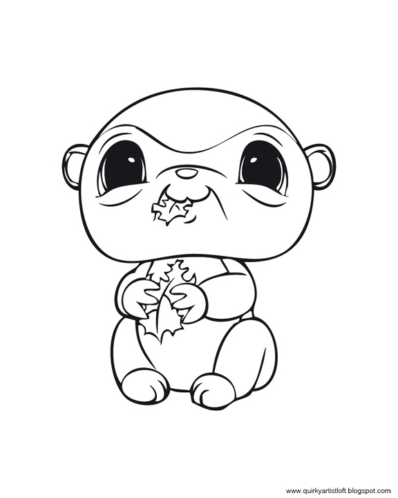 free printable lps coloring pages - photo#20
