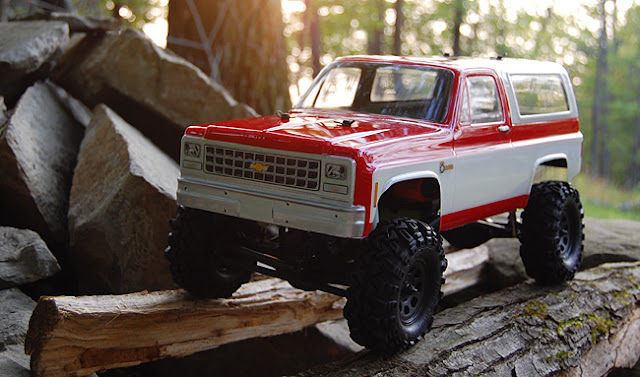 "Axial AX10 scale truck 1.9"" conversion"