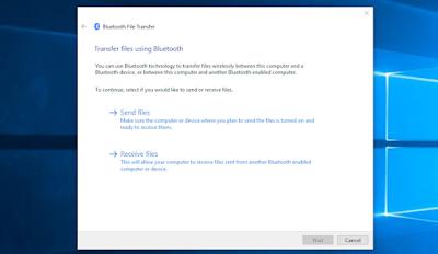 transfer file bluetooth