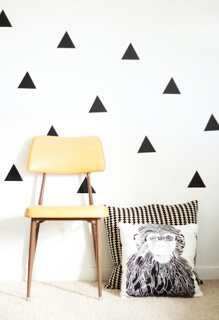 The Pink Doormat: Using Wall Decals