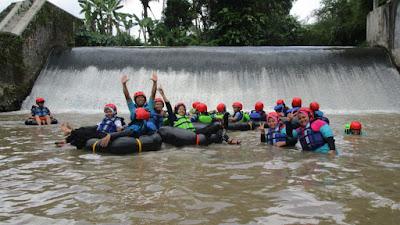 Wisata Tubing di Kecamatan Minggir