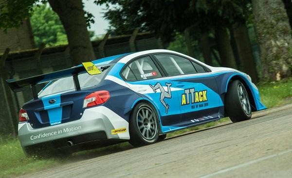 Subaru WRX STi TT récord Isla de Man