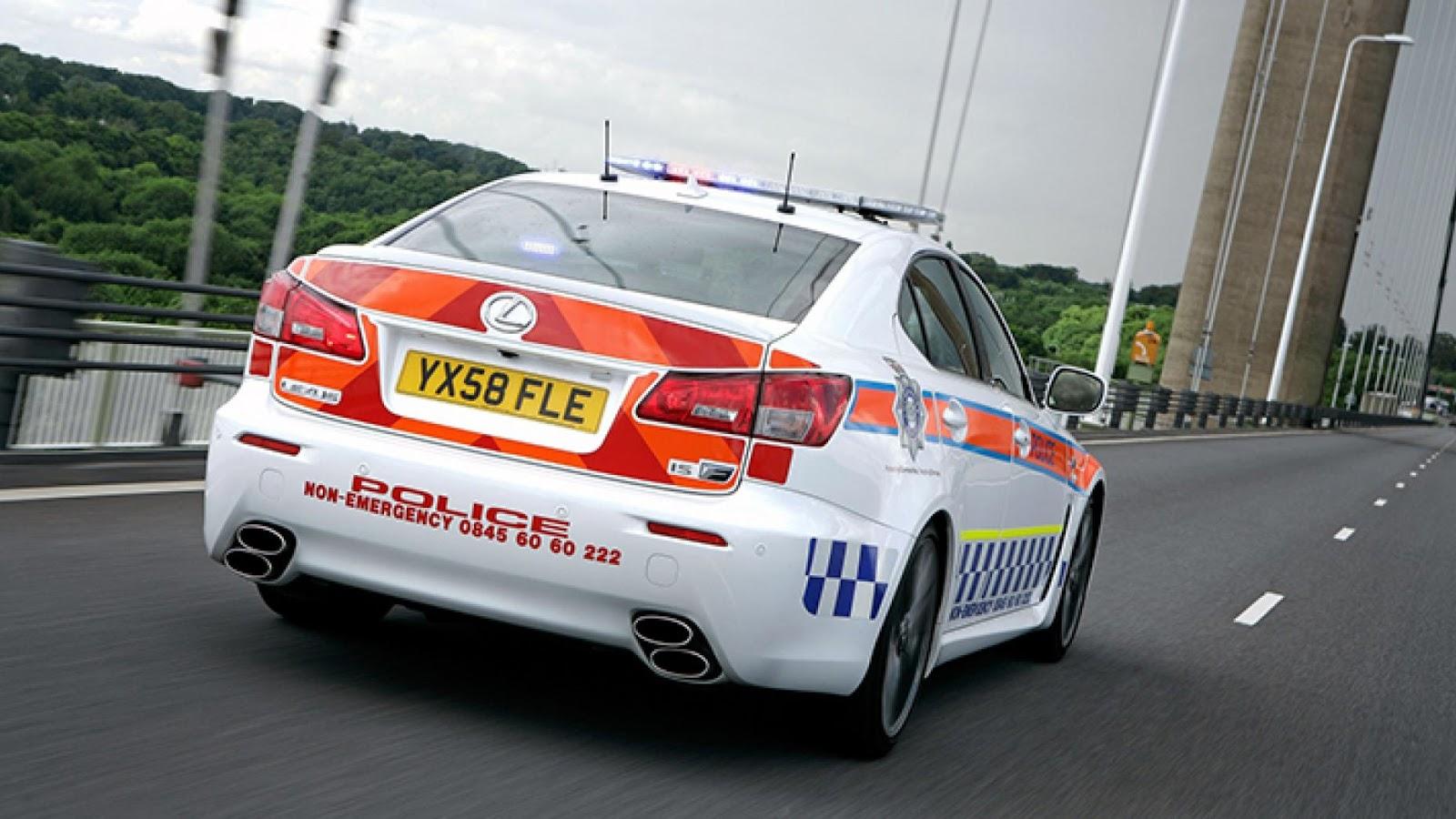 Humberside Police Lexus IS-F