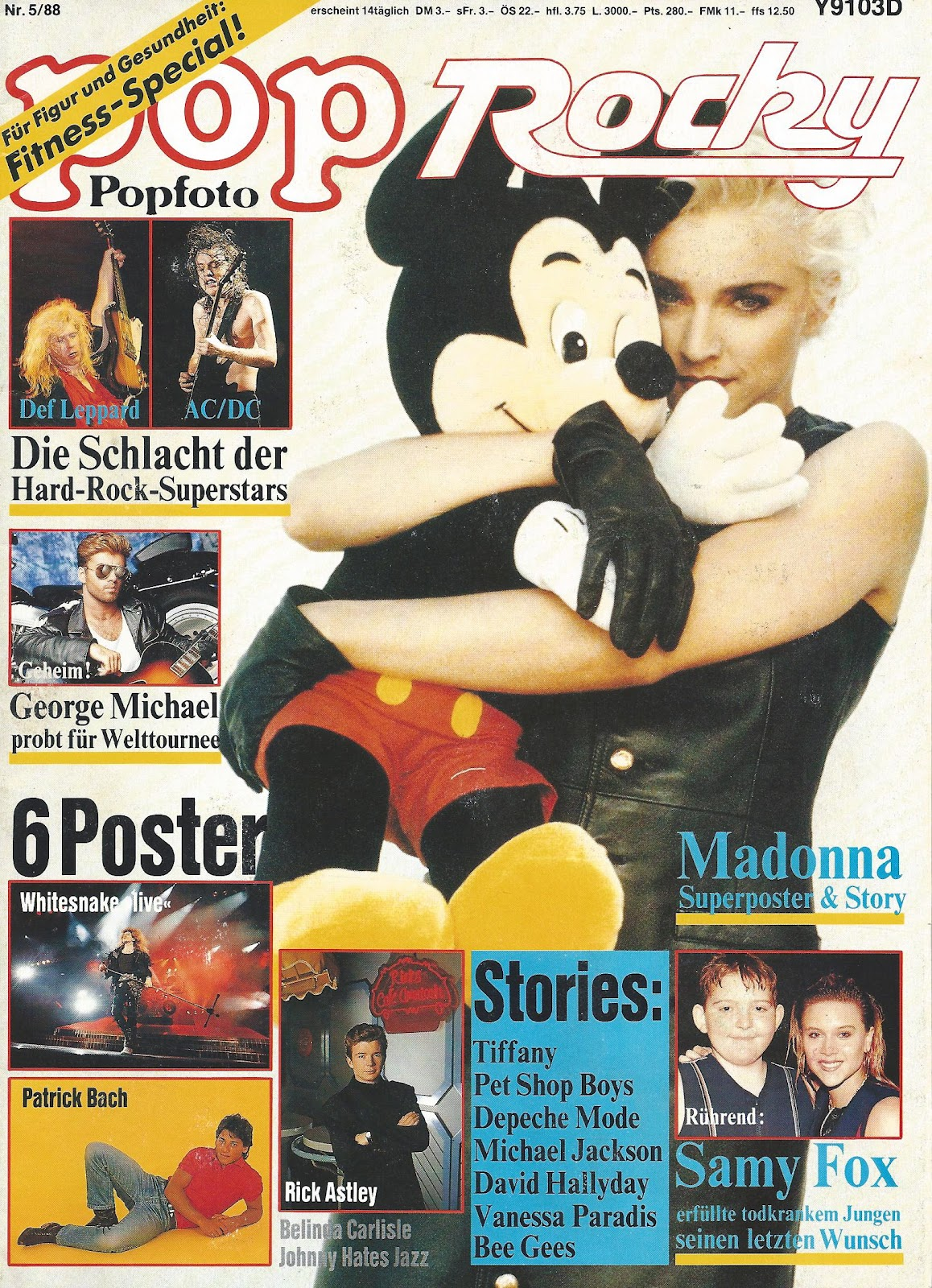 Magazines Collection Fashion Nails 4 Et 5: MADMUSIC1: My Madonna Collection: MAGAZINE: Pop Rocky