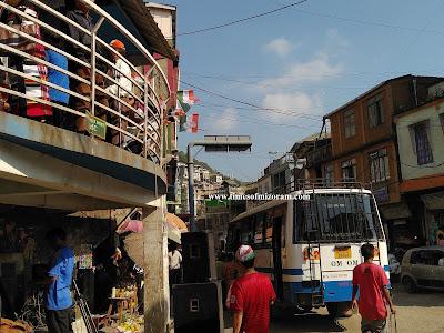Aizawl Bus Traffic