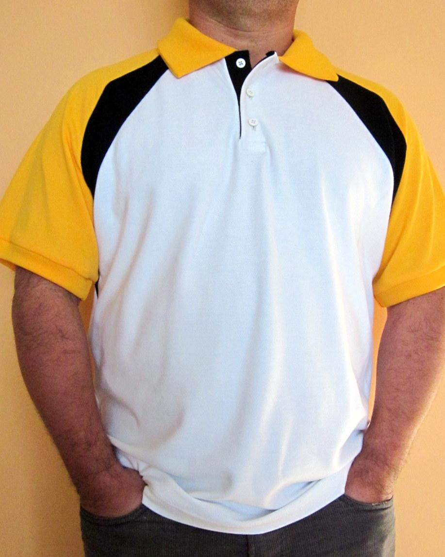 Instrucciones de costura y patron para descargar gratis en casa PDF chemise polo