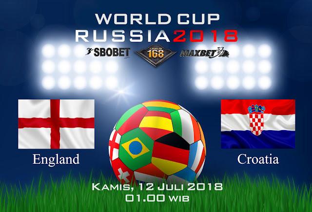 BOLA88 - PREDIKSI SEMIFINAL PIALA DUNIA: INGGRIS VS KROASIA 12 JULI 2018 ( RUSSIA WORLD CUP 2018 )