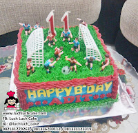 Kue Buttercream Sepak Bola Untuk Anak Cowok