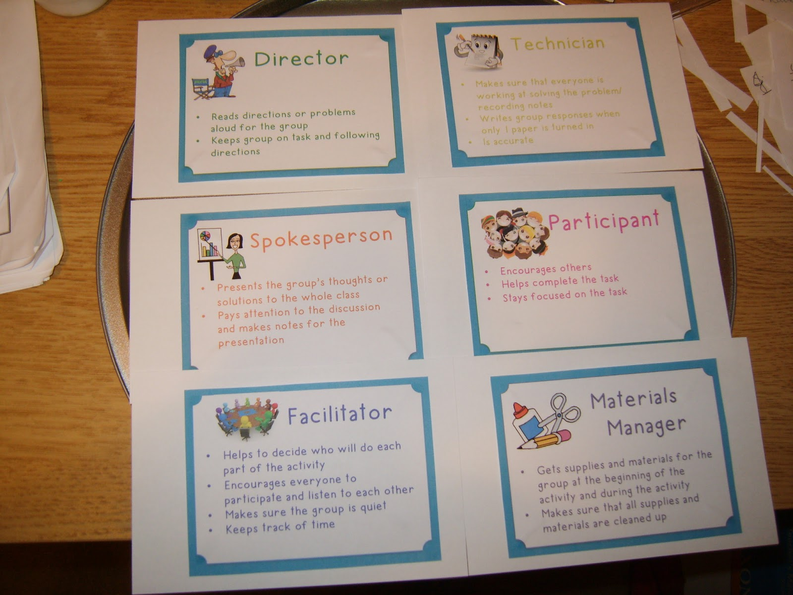 Small Group Roles 6