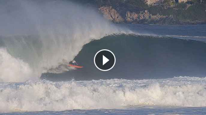 Two XXL Puerto Escondido Waves with Barrel of the Year Potential from August 16th 2018 SURFER