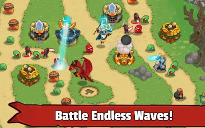 Legends TD – None Shall Pass! Apk v1.0.2 Mod Money