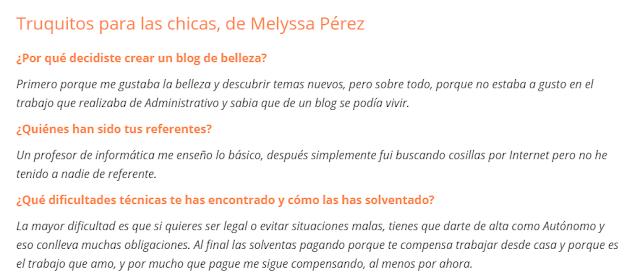 entrevista truquitosparalaschicas