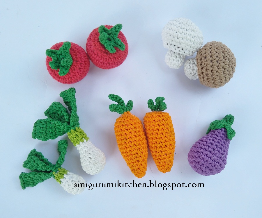 Crochet Fruit And Vegetable Patterns All The Best Ideas | 750x900