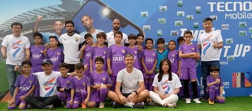 TECNO Mobile تروج للمواهب كراعٍ لكأس مانشستر سيتي في أبوظبي 2019 وتُرسل فريق العين إلى برنامج تدريبي مع مدربي مانشستر سيتي لكرة القدم