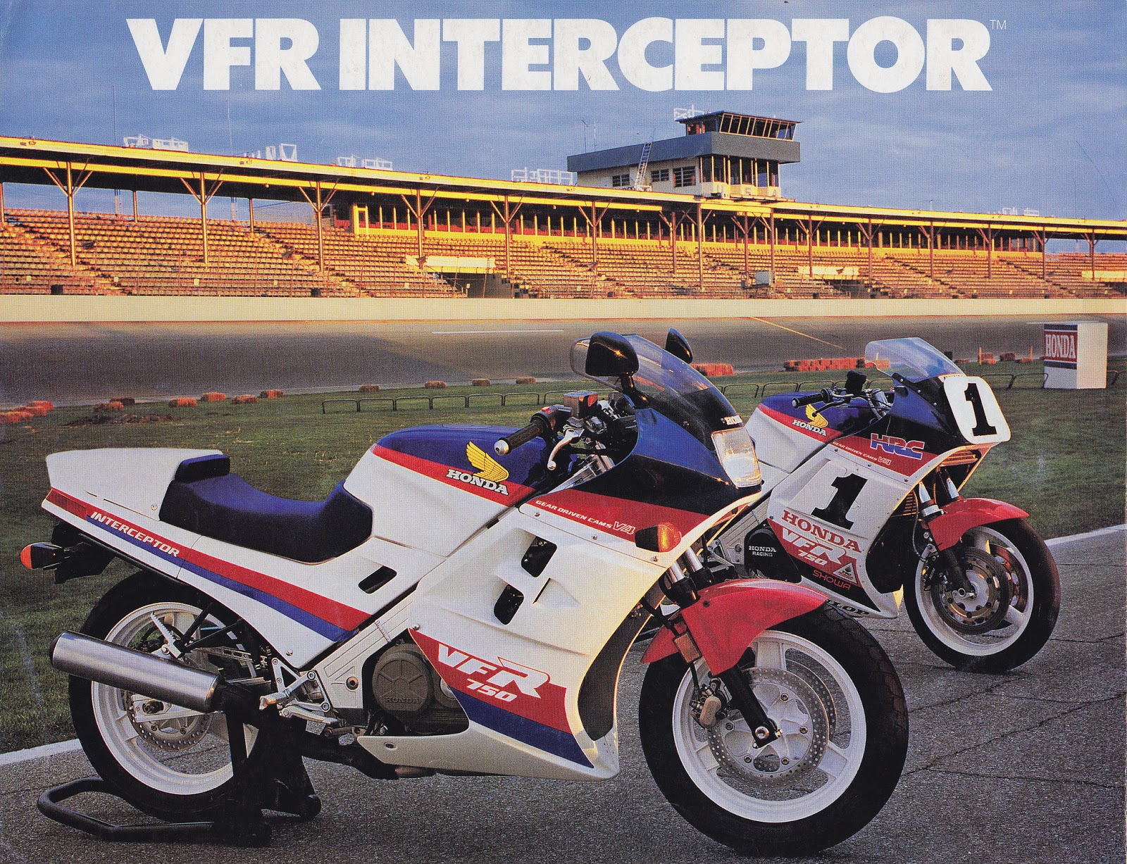 Racing Caf U00e8  Vintage Brochures  Honda Vfr 750 Interceptor