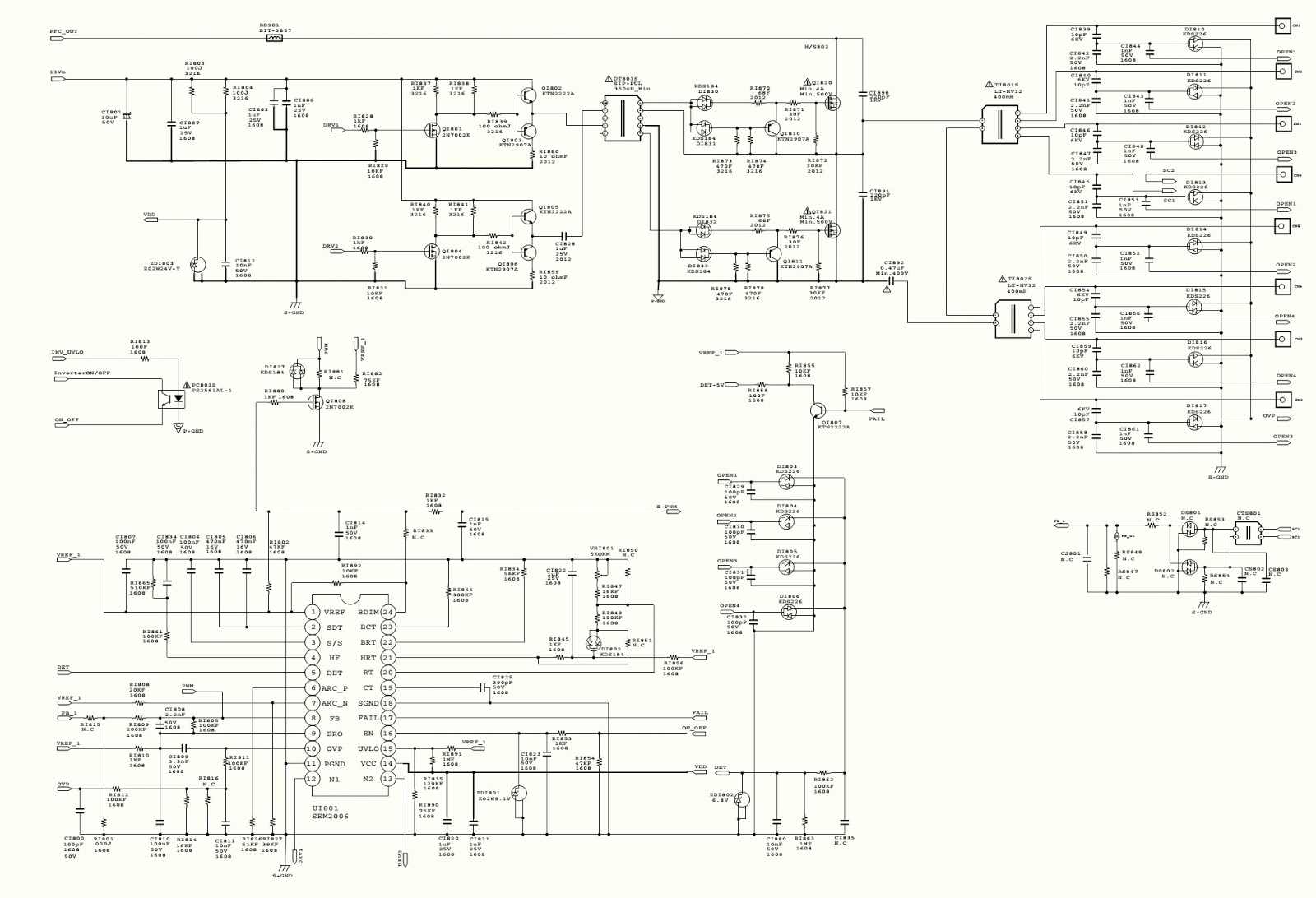 lg 47le5400 lcd tv schematic diagram tv schematic diagrams on samsung lcd tv backlight inverter tv schematic