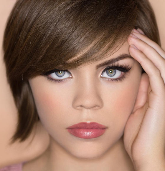 Best Hair Colors For Warm Skin Tone And Blue Eyes Hair Fashion Online