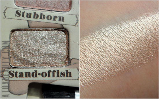 theBalm, Nude'tude, Stand-offish