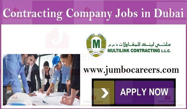 company job vacancies in Dubai, Jobs for Indians in UAE,