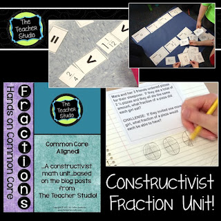 fraction unit, fraction lessons, hands on fractions, fractions activities, fraction printables