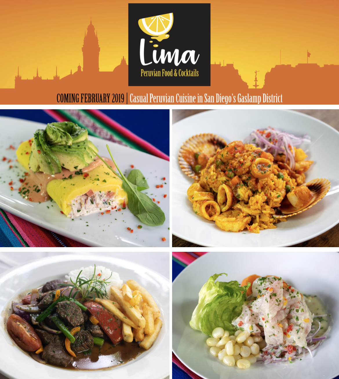 Sandiegoville Lima Peruvian Restaurant To Replace All