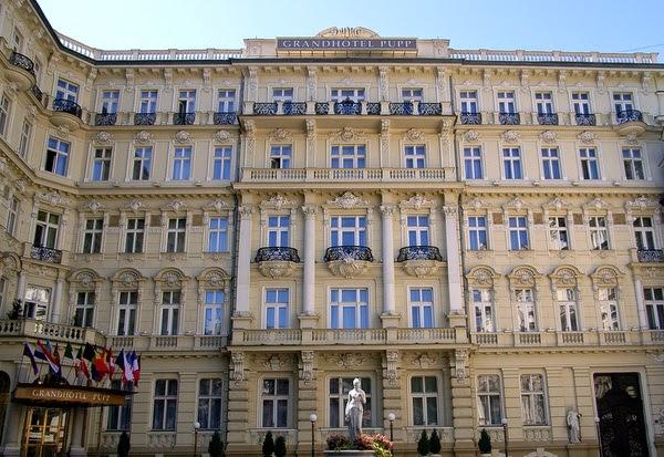 Grandhotel Pupp en Karlovy Vary, República Checa