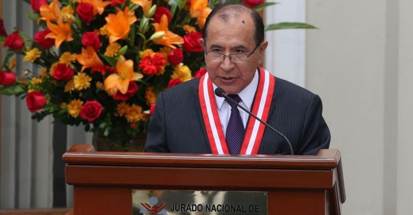 JNE pide participar en elección de rectores que integrarán comisión de JNJ - www.jne.gob.pe